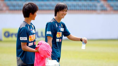 Tập kiệt sức, Tuấn Anh không ra sân cùng Yokohama FC