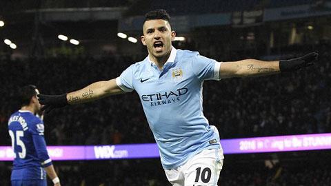 Ngược dòng đánh bại Everton, Man City vào chung kết gặp Liverpool