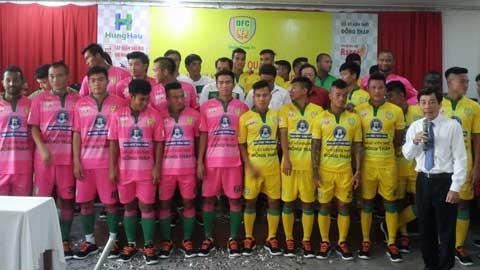 Đồng Tháp đặt mục tiêu cán đích trong top 10 V-League 2016