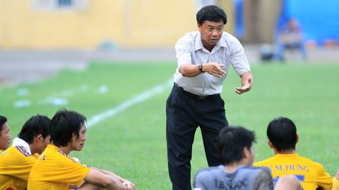 HLV Phạm Công Lộc tin Đồng Tháp sẽ trụ hạng thành công ở V.League 2016