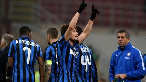 Thắng Palermo, Inter áp sát nhóm dự Champions League