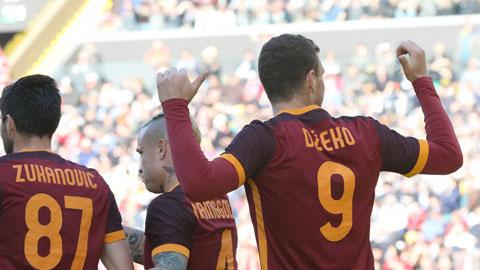 Loạt trận sớm vòng 28 Serie A: Chỉ Roma còn thăng hoa