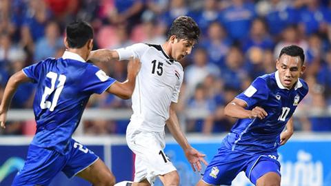 Iraq hòa Thái Lan, Việt Nam còn cơ hội đi sâu ở vòng loại World Cup 2018