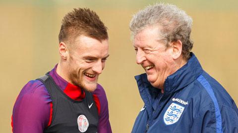HLV Hodgson đảm bảo Vardy sẽ cùng ĐT Anh dự EURO 2016