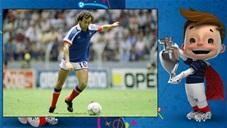 EURO 1984: Tôn vinh Michel Platini