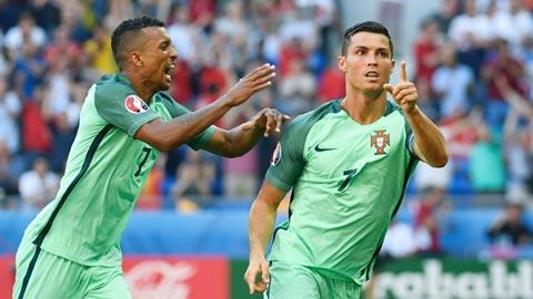 Với Ronaldo & Nani, Bồ Đào Nha không cần trung phong