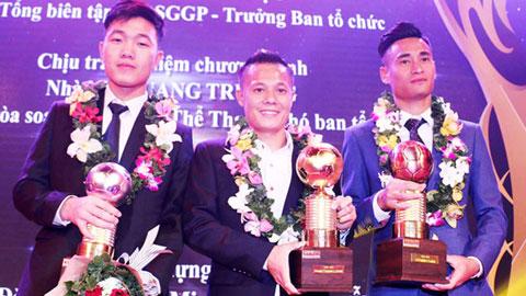 Thành Lương lập kỷ lục giành 4 Quả bóng Vàng Việt Nam