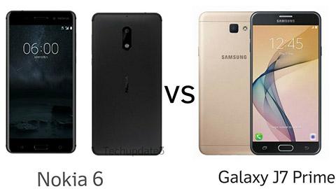 Nokia 6 so cấu hình với các smartphone cùng tầm giá
