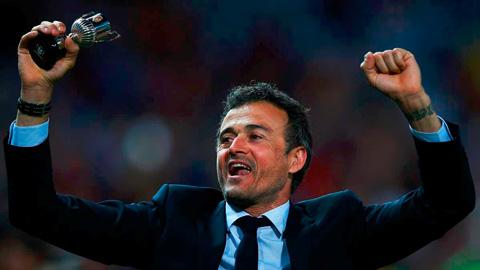 Luis Enrique, vua hành quân trong lịch sử Barca