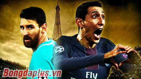 PSG lấn át Barca ở cuộc chiến kèo trái
