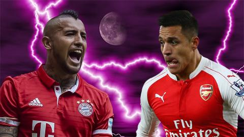 Bayern đối đầu Arsenal: Thành bại ở những chiến binh Chile