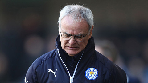 Leicester bất ngờ sa thải Claudio Ranieri