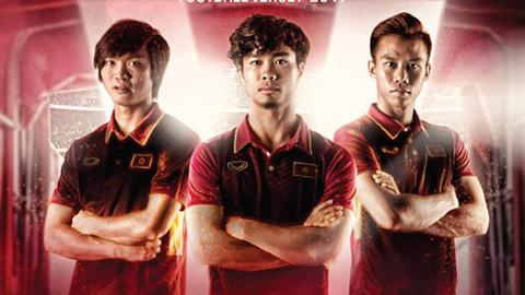 Công Phượng, Tuấn Anh cực ngầu với áo đấu mới của ĐT Việt Nam