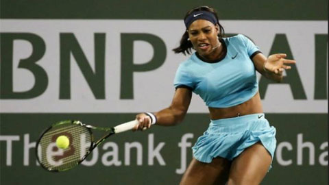 Serena Williams, Raonic rút khỏi Indian Wells