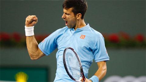 Djokovic tái hiện kịch bản y hệt ở Acapulco tại Indian Wells