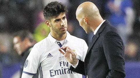 Zidane cần trao thêm cơ hội cho Asensio
