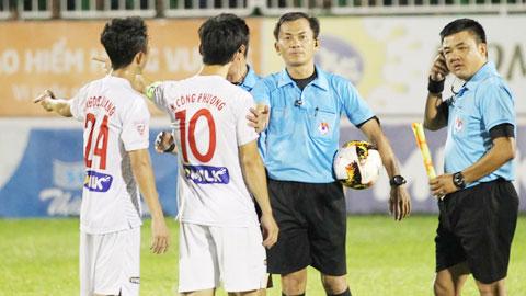 HAGL rút kinh nghiệm sau trận thua FLC Thanh Hóa