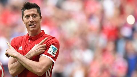 Lewandowski trở lại ở đại chiến với Real