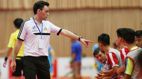 U20 futsal Việt Nam tập trung trở lại
