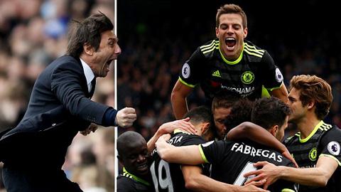 Conte ca ngợi màn trình diễn của cầu thủ Chelsea