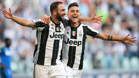 Juventus thăng hoa ở Champions League nhờ dàn sao Nam Mỹ