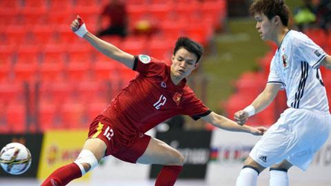 U20 futsal Việt Nam chia tay VCK U20 futsal châu Á