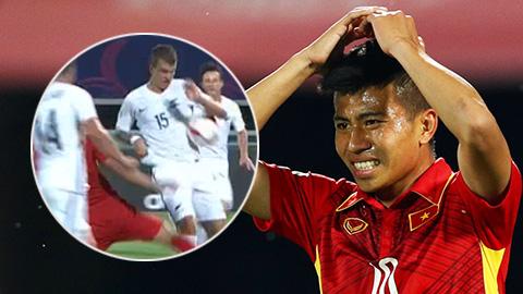 Lý do U20 Việt Nam mất penalty ở trận gặp New Zealand
