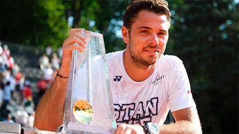 Wawrinka vô địch Geneva Open trước thềm Roland Garros khởi tranh