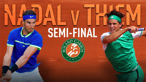 Roland Garros bán kết đơn nam qua con số