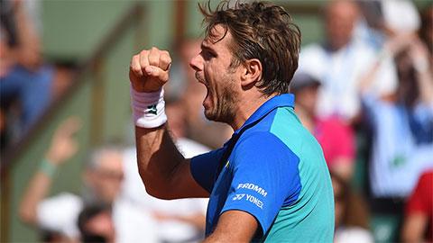 Hạ gục Murray, Wawrinka vào chung kết Roland Garros