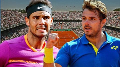 Roland Garros chung kết: La Decima chờ gọi tên Nadal