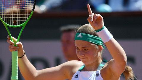 Jelena Ostapenko vô địch Roland Garros
