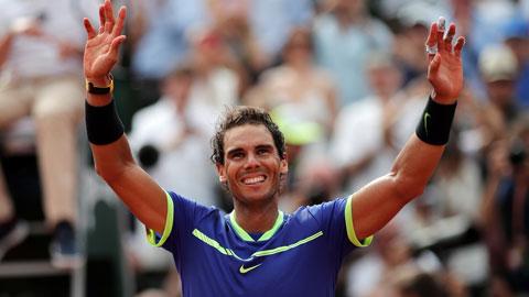 Thắng dễ Wawrinka, Rafael Nadal hoàn tất cú Decima