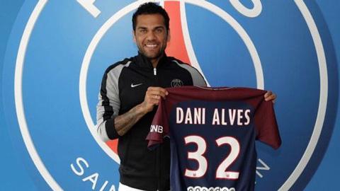 PSG chiêu mộ thành công Dani Alves