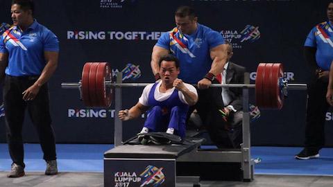 ASEAN Paragames 2017: Lê Văn Công và Nguyễn Bình An phá kỷ lục cử tạ