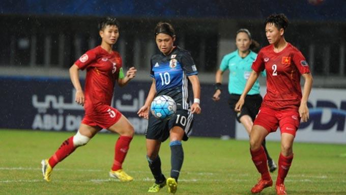 U19 Nữ Việt Nam thua đậm đội ĐKVĐ