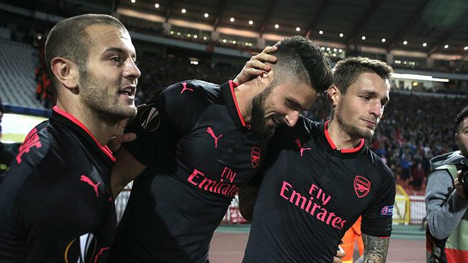 Vòng bảng Europa League: Arsenal 99% đi tiếp, Everton nguy cơ loại sớm