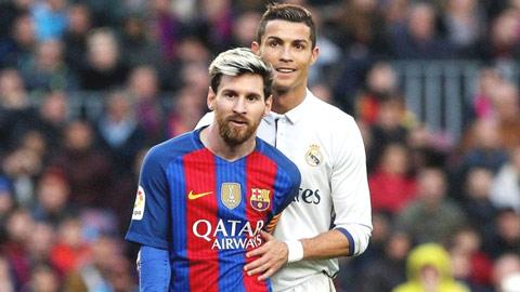 Ronaldo chỉ là thuyết tương đối khi đặt cạnh Messi