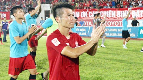 Tiền vệ Minh Châu sẽ giải nghệ sau mùa giải 2017
