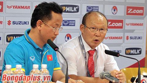 HLV Park Hang-seo nói gì sau trận đấu đầu tay?