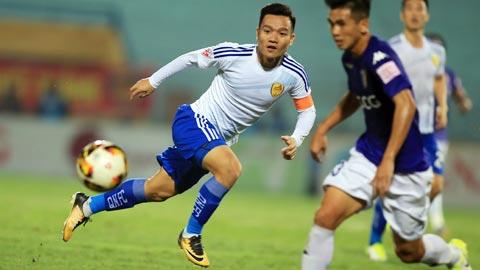 """Tiền vệ Đinh Thanh Trung (Quảng Nam FC): """"Nhiều cầu thủ sẽ đổi đời nếu vô địch V.League"""""""