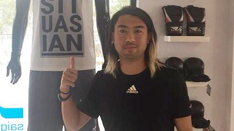 Lee Nguyễn trở về Việt Nam với kiểu tóc kỳ lạ