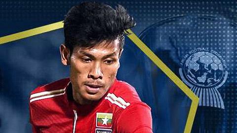 Trọng pháo của U23 Myanmar không dự M-150 Cup