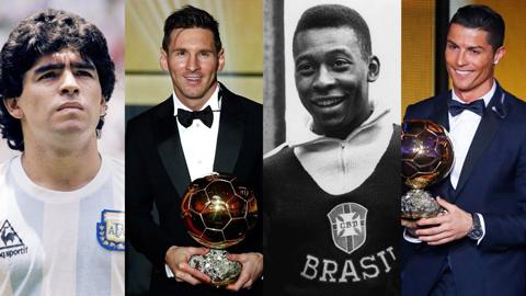 Bầu chọn cầu thủ xuất sắc nhất lịch sử bóng đá