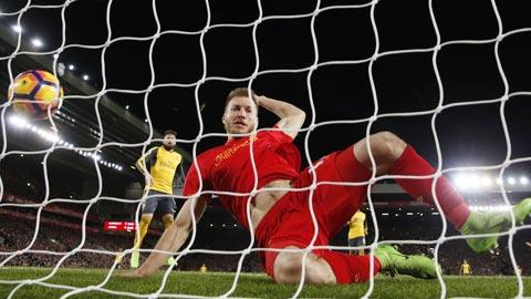 Arsenal là bài toán khó tìm đáp án của hàng thủ Liverpool