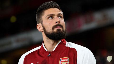Arsenal mất Giroud 6 tuần vì chấn thương