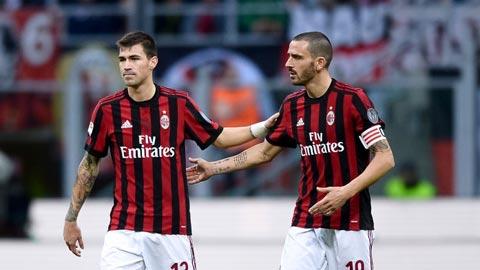Milan: Bonucci và Romagnoli hồi sinh nhờ Gattuso