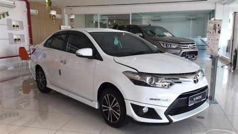 Toyota chiếm lĩnh thị trường ôtô Việt trong năm 2017