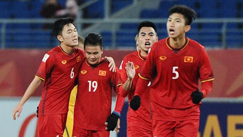 Lực lượng U23 Việt Nam: Vài cầu thủ bị đau nhưng không nghiêm trọng
