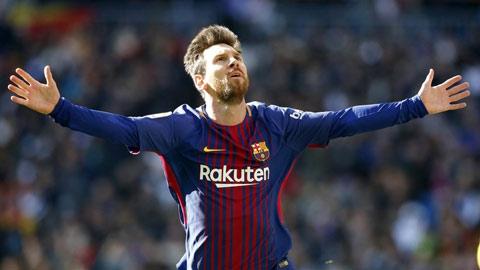 Cơn bão Barca, mắt bão Messi